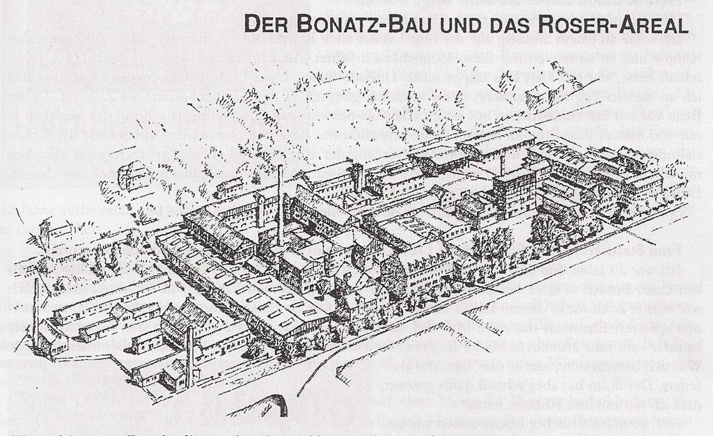 Der Bonatz-Bau und das Roser-Areal